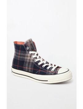 Converse Chuck 70 Plaid High Top Shoes by Pacsun