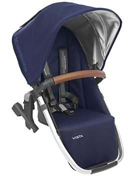 Upp Ababy Vista Rumble Seat   Taylor (Indigo/Silver/Saddle Leather) by Upp Ababy