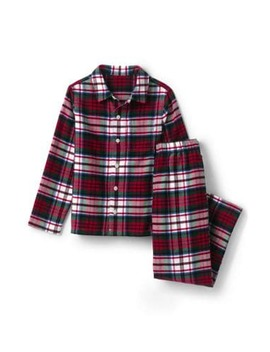 Boys Flannel Pajama Set by Lands' End