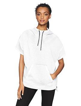 Core 10 Women's Motion Tech Fleece Relaxed Fit Short Sleeve Sweatshirt Hoodie (Xs Xl, 1 X 3 X) by Core+10