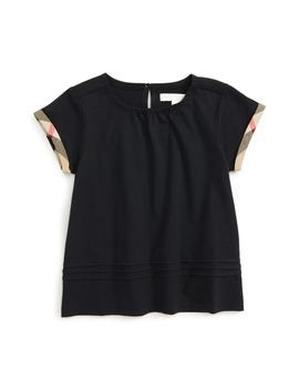 Mini Gisselle Tee by Burberry
