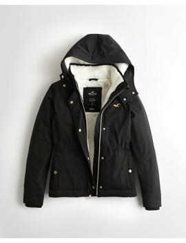Sherpa Lined Jacket by Hollister