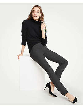 The Petite Ankle Pant In Houndstooth by Ann Taylor