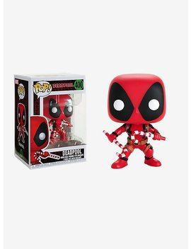 Funko Marvel Deadpool Pop! Holiday Deadpool Vinyl Figure by Hot Topic