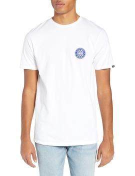 Checker Logo T Shirt by Vans