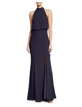 Cameron Blouson Halter Gown by Likely