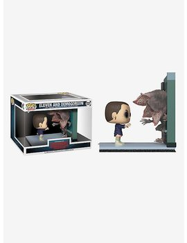 Funko Stranger Things Pop! Television Eleven And Demogorgon Movie Moments Vinyl Collectible by Hot Topic