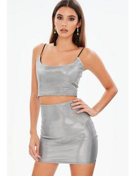 Metallic Co Ord Set by Missguided