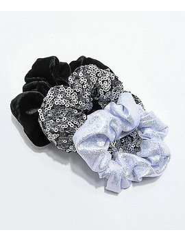 Stone + Locket Party Scrunchie 3 Pack by Stone + Locket