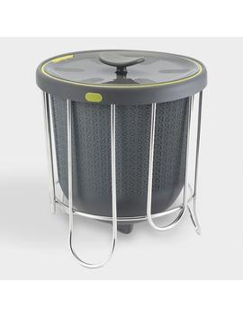 Steel And Silicone Kitchen Compost Bin by World Market