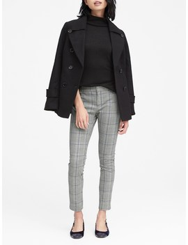 Petite Sloan Skinny Fit Plaid Ankle Pant by Banana Repbulic