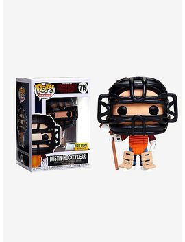 Funko Stranger Things Pop! Television Dustin (Hockey Gear) Vinyl Figure Hot Topic Exclusive by Hot Topic