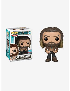 Funko Dc Comics Aquaman Pop! Heroes Arthur Curry Vinyl Figure 2018 Fall Convention Exclusive by Hot Topic