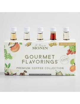 Monin Coffee Collection Syrups 5 Pack by World Market