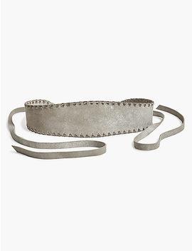 Metallic Stitched Belt by Lucky Brand