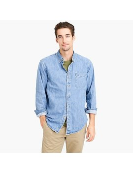 J.Crew Always Midweight Denim Shirt by J.Crew