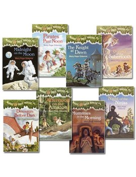 Magic Tree House Set 1 #1 8   Set Of 8 by Kaplan Early Learning Company