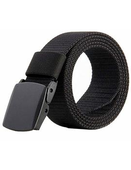 Jasgood Nylon Canvas Breathable Military Tactical Men Waist Belt With Plastic Buckle by Jasgood