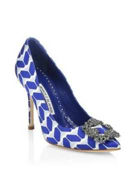 Hangisi 105 Cosmo Embellished Pumps by Manolo Blahnik