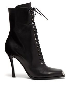 Windora Lace Up Leather Boots by Calvin Klein 205 W39 Nyc