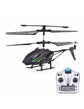 Rc Helicopter, Remote Control Helicopter With Gyro And Led Light 3.5 Hz Channel Alloy Mini Helicopter Remote Control For Kids & Adult Indoor Outdoor Micro Rc Helicopter Best Helicopter Toy Gift by Vatos