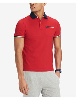 Men's Homer Custom Fit Polo Shirt, Created For Macy's by Tommy Hilfiger
