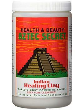 Aztec Secret   Indian Healing Clay   2 Lb. | Deep Pore Cleansing Facial & Body Mask | The Original 100 Percents Natural Calcium Bentonite Clay – New! Version 2 by Aztec Secret