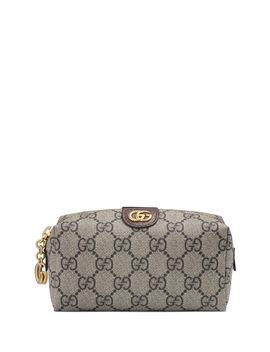 Ophidia Mini Gg Supreme Cosmetics Clutch Bag by Gucci