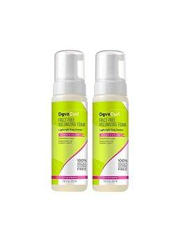 Deva Curl Frizz Free Volumizing Texture Foam; 7.5 Ounce; 2 Pack by Deva Curl