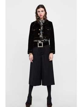 Short Culottes  Trouserswoman by Zara