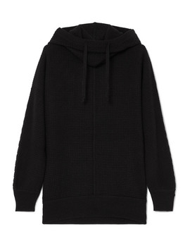 Waffle Knit Cashmere Hoodie by James Perse