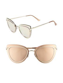 Primrose 55mm Cat Eye Sunglasses by Quay Australia