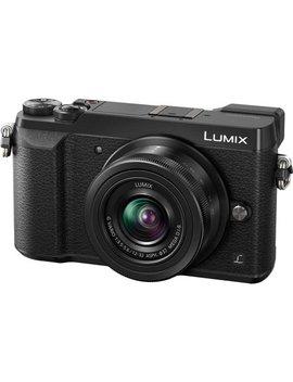 Panasonic Lumix Dmc Gx85 4 K Wi Fi Digital Camera & 12 32mm Lens (Black) by Panasonic