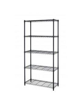 """Best Office 5 Shelf Steel Wire Tier Layer Shelving 72""""X36""""X14"""" Storage Rack by Best Office"""
