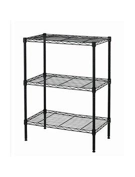 Best Office New Wire Shelving Cart Unit 3 Shelves Shelf Rack Layer Tier by Best Office
