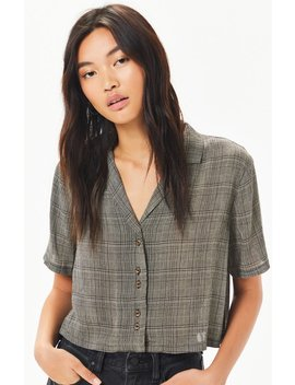 Kendall & Kylie Menswear Button Down Shirt by Pacsun