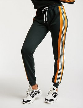 Colorblock Drawstring Track Pants by Charlotte Russe