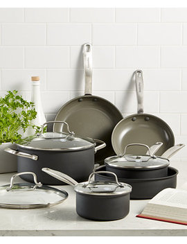 Chatham 10 Pc. Ceramic Non Stick Cookware Set by Green Pan