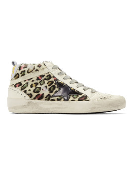 White Pony Sneakers by Golden Goose