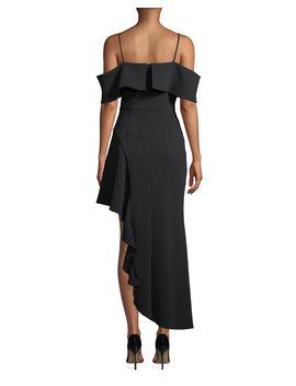 Ellen Off The Shoulder Asymmetric Dress by Elliatt