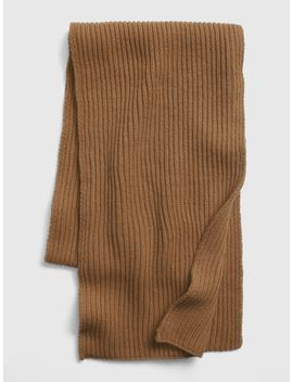 Ribbed Knit Scarf by Gap