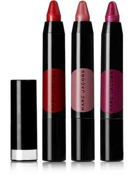 On The Dot 3 Piece Le Marc Liquid Lip Crayon Collection by Marc Jacobs Beauty