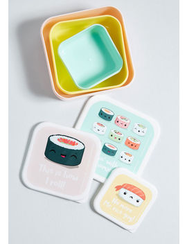 Ready To Roll Sushi Snack Box Set by Modcloth