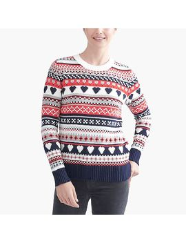 Classic Fair Isle Sweater by J.Crew