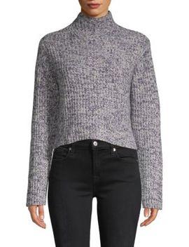 Lassell Hi Low Mockneck Cashmere Sweater by Naadam