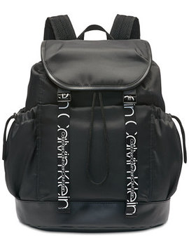 Hebe Nylon Backpack by Calvin Klein