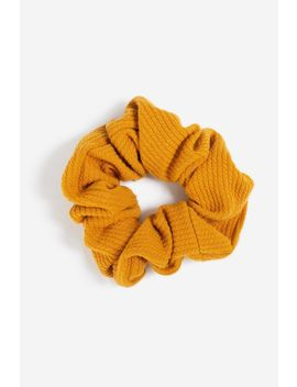 **Ribbed Hair Scrunchie by Topshop