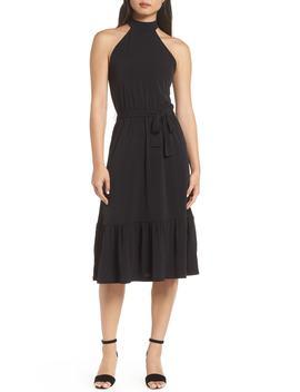 Halter Midi Dress by Michael Michael Kors