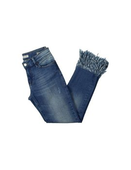 Mavi Womens Kerry Distressed Vintage Ankle Jeans by Mavi
