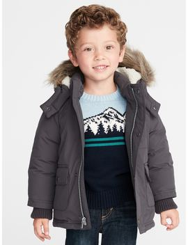 Hooded Snow Jacket For Toddler Boys by Old Navy